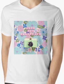 Love and Snapshots  Mens V-Neck T-Shirt