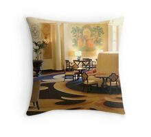 Cozy Corner - HOTEL ROANOKE  ^ Throw Pillow