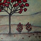 rose madder landscape by Sorina Williams