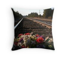 Souls Train Throw Pillow