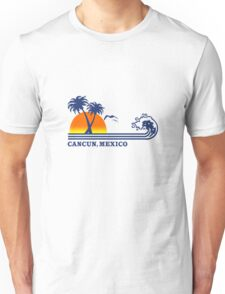 Cancun mexico geek funny nerd Unisex T-Shirt