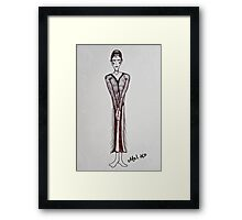 Twenty's Woman Framed Print