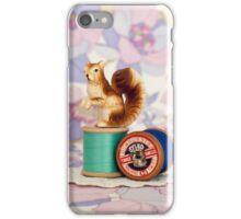 Crafty Squirrel  iPhone Case/Skin