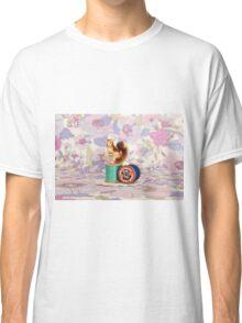 Crafty Squirrel  Classic T-Shirt