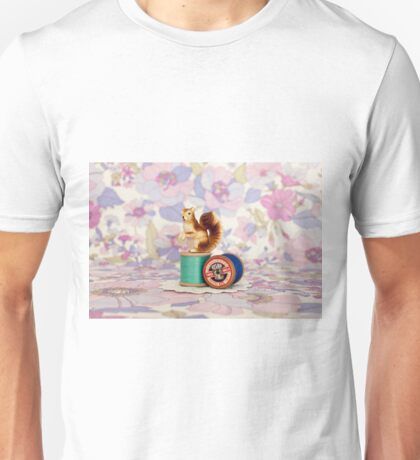 Crafty Squirrel  Unisex T-Shirt