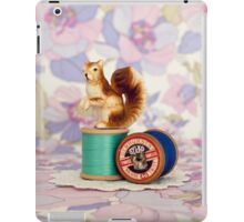 Crafty Squirrel  iPad Case/Skin
