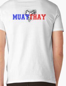 Muay Thai #2 Mens V-Neck T-Shirt