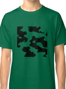 Cow pattern black and white geek funny nerd Classic T-Shirt