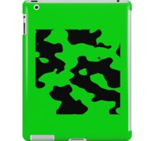 Cow pattern black and white geek funny nerd iPad Case/Skin