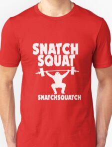 Crossfit snatch squat snatchsquatch geek funny nerd T-Shirt