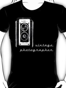 vintage photographer  T-Shirt
