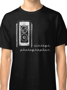 vintage photographer  Classic T-Shirt