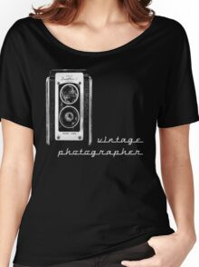 vintage photographer  Women's Relaxed Fit T-Shirt