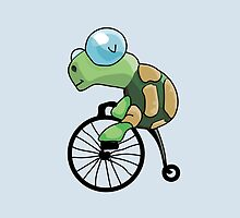 Turtle Likes to Ride. by Nathanael Mortensen