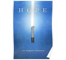 Hope, An Elegant Weapon Poster