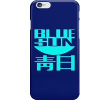 Firefly: Blue Sun for Dark Backgrounds iPhone Case/Skin