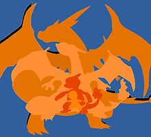 Charizard Evolutions by Flameboy6699