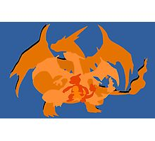 Charizard Evolutions Photographic Print