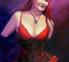 The Burlesque Queen by Roz McQuillan