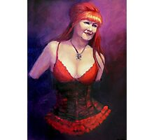 The Burlesque Queen Photographic Print