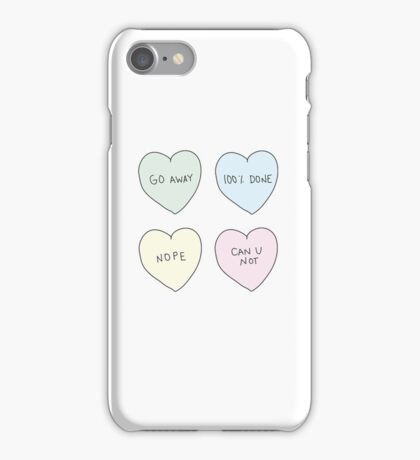 Sassy Hearts iPhone Case/Skin
