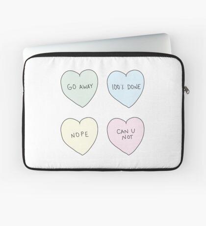Sassy Hearts Laptop Sleeve
