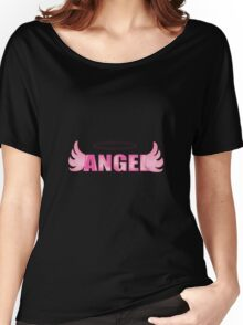 Angel~(C) Women's Relaxed Fit T-Shirt