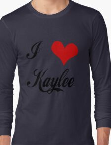 Firefly: I love Kaylee Long Sleeve T-Shirt