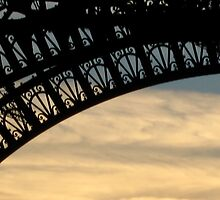 A different perspective of the Eiffel Tower by Charnell Steadman