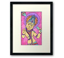 New Yorker Spot Illustration: Ramayana Framed Print