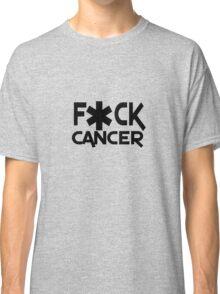F ck cancer geek funny nerd Classic T-Shirt