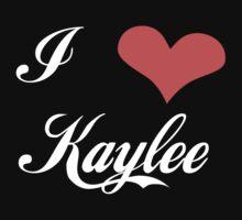 Firefly: I Heart Kaylee for Dark Backgrounds Kids Tee