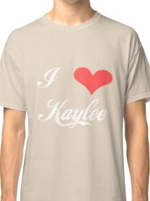 Firefly: I Heart Kaylee for Dark Backgrounds Classic T-Shirt