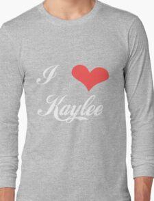 Firefly: I Heart Kaylee for Dark Backgrounds Long Sleeve T-Shirt