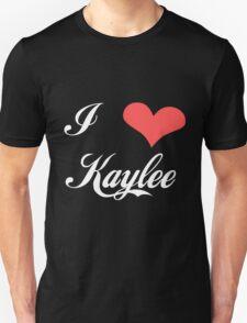 Firefly: I Heart Kaylee for Dark Backgrounds T-Shirt