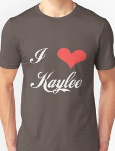 Firefly: I Heart Kaylee for Dark Backgrounds T-Shirt