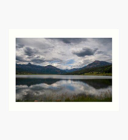 Lakeside Mountain - Colorado Art Print