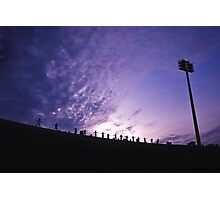 Olympic Stadium Sunrise Photographic Print