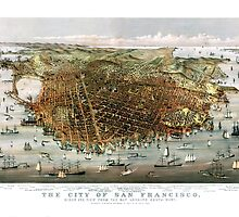 San Francisco - California - United States - 1878 by paulrommer