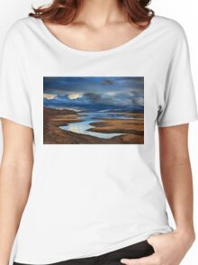Early morning at Plastiras lake Women's Relaxed Fit T-Shirt