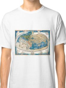 4th edition of Ptolemy's Cosmographia  by Leinhart Holle, dated 1482 Classic T-Shirt