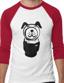 Fisher price little people vintage retro dog geek funny nerd Men's Baseball ¾ T-Shirt