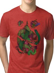 Tentacles within Tri-blend T-Shirt