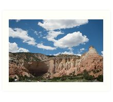 Echo Amphitheater - New Mexico Art Print