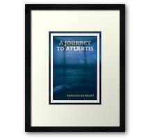 A Journey To Atlantis e-book Cover Art Framed Print
