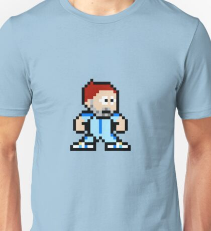 8bit Bill Murray Steve Zissou no text Unisex T-Shirt