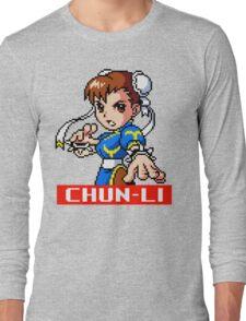 Chun-Li (MM) Long Sleeve T-Shirt
