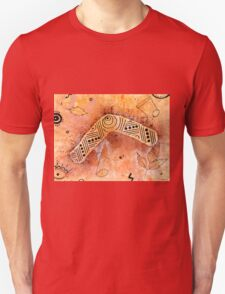 Boomerang Notes Unisex T-Shirt