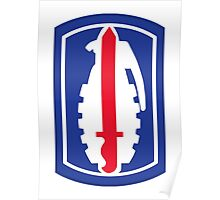 191st Infantry Brigade (United States) Poster