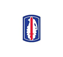 191st Infantry Brigade (United States) by wordwidesymbols
